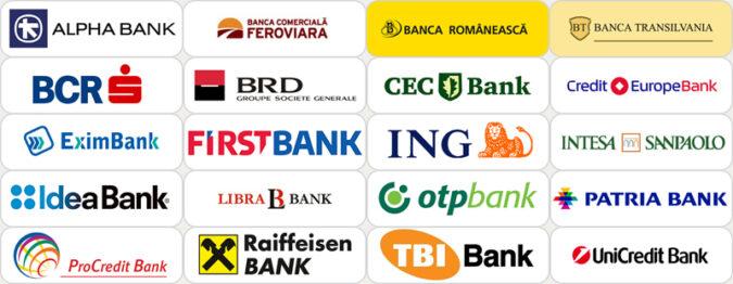 lista banci romania