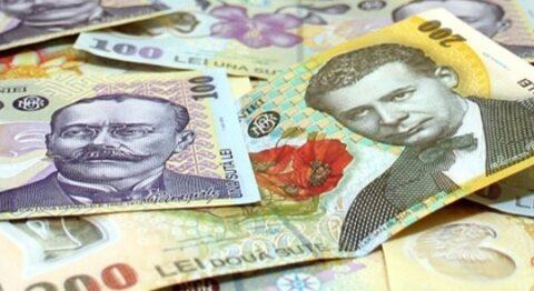 evolutia leu fata de euro si dolar